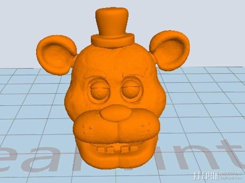 呆熊 3D模型  图1