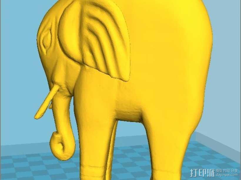 曹植称象 3D模型  图1