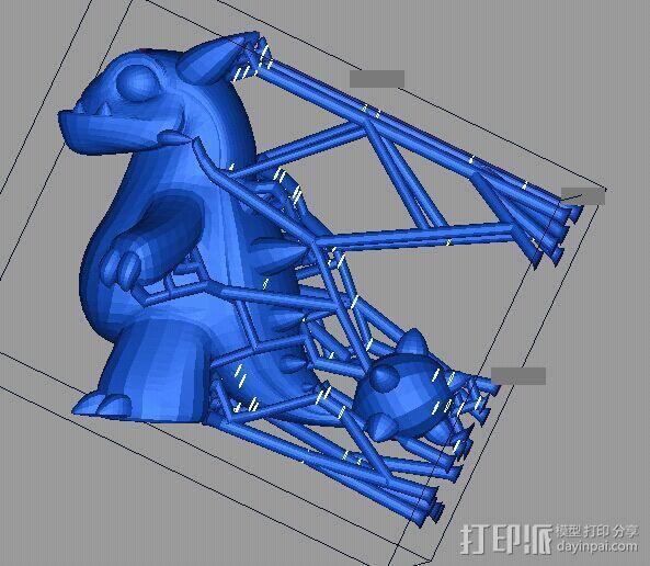 小恐龙 3D打印制作  图1