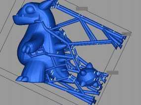 小恐龙 3D打印制作