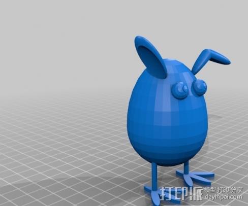 萌小鸡 3D模型  图1