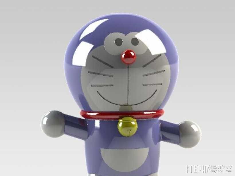 哆啦A梦 3D模型  图1