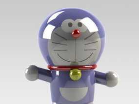 哆啦A梦 3D模型