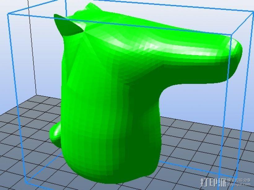 刘看山 3D模型  图1