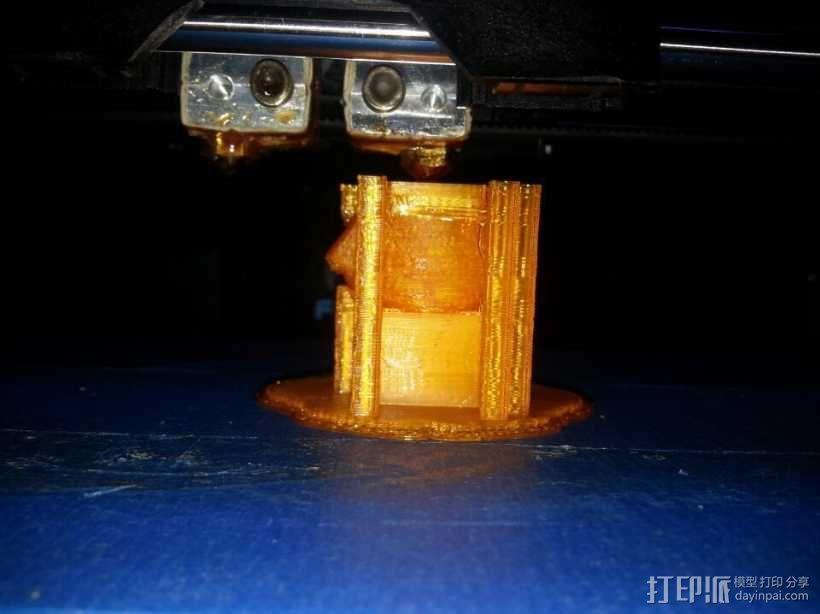 打印测试 派派 3D模型  图1
