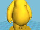 大白Bigbay 3D模型 图1