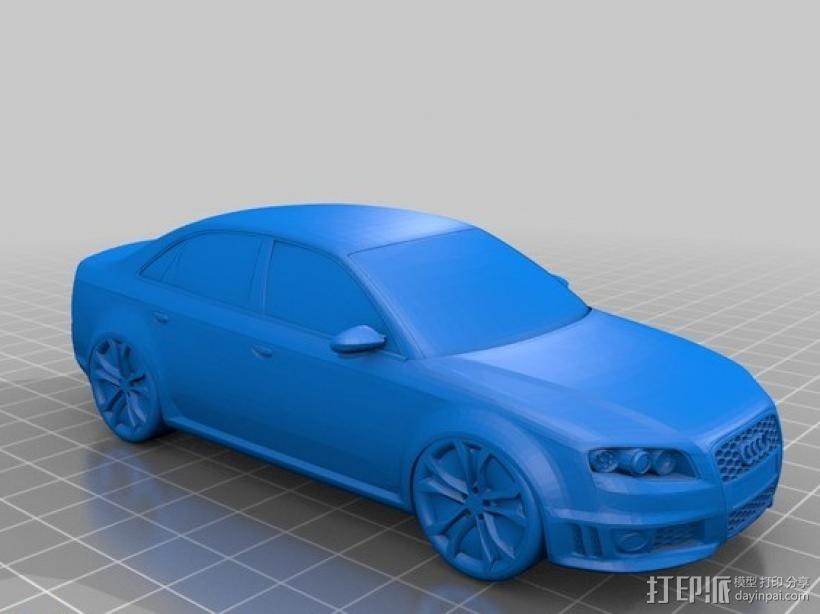 奥迪 3D模型  图1