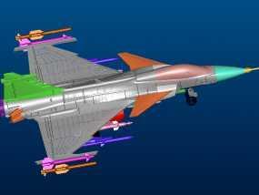 世界战机 3D模型