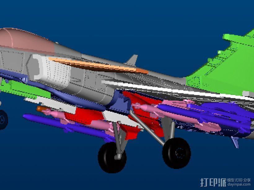 世界战机 3D模型  图2
