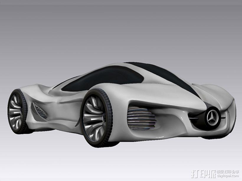 奔驰概念跑车 3D模型  图1