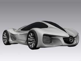 奔驰概念跑车 3D模型