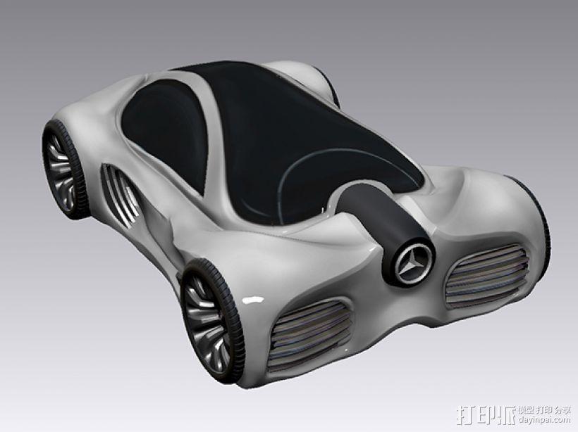 奔驰概念跑车 3D模型  图3