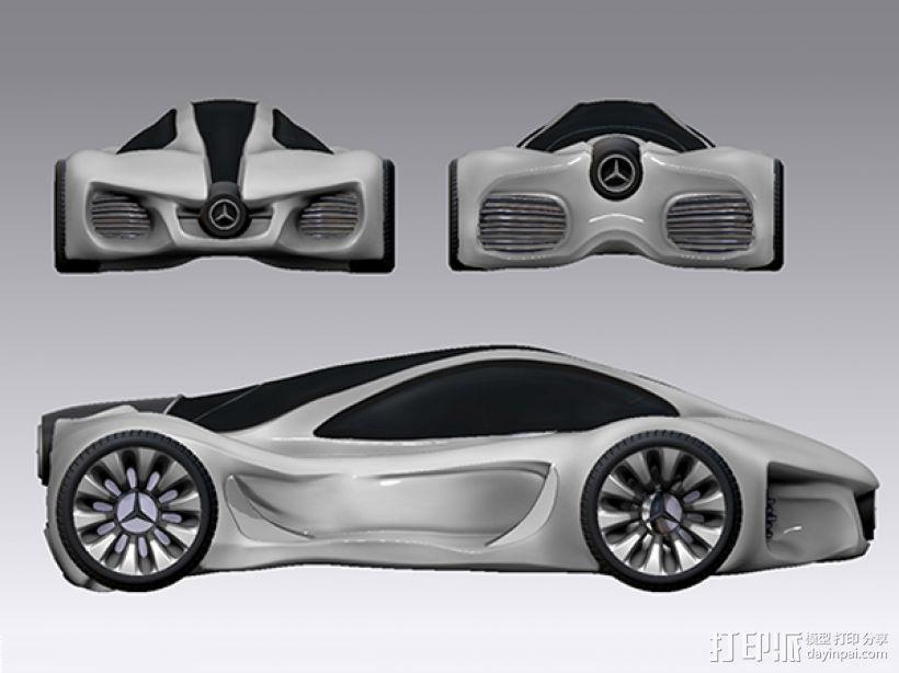 奔驰概念跑车 3D模型  图2