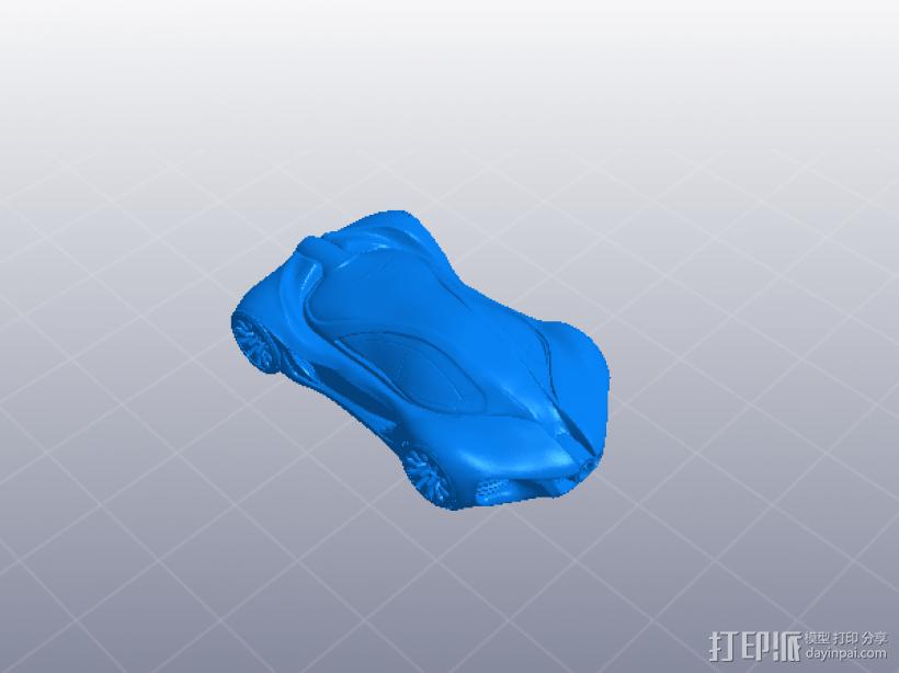 奔驰概念跑车 3D模型  图6