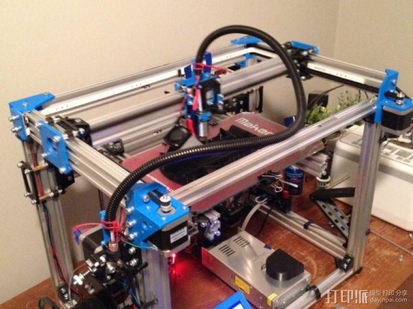 驱动方式(h-bot) 3D模型  图1