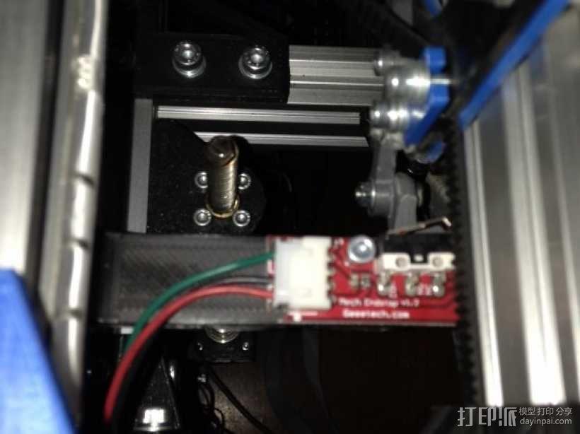 驱动方式(h-bot) 3D模型  图6