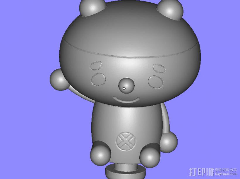 公仔 3D模型  图1