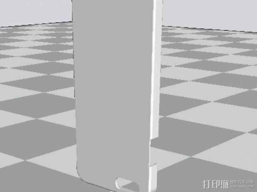 iPhone+6+手机壳.stl 3D模型  图1