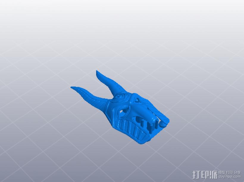 法老面具 3D模型  图4