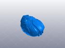 科幻机械面具 3D模型 图5