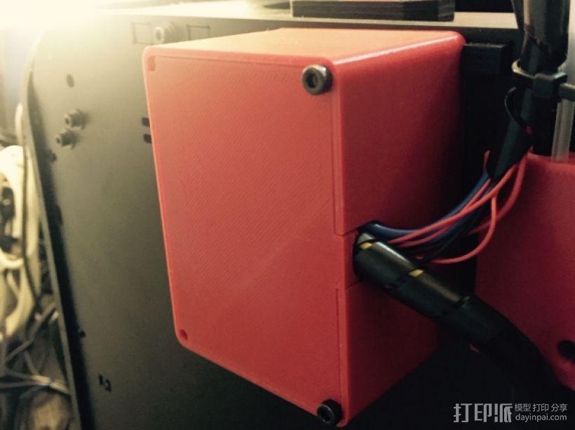 电路盒 3D模型  图1