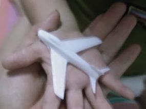 简易小飞机 3D模型