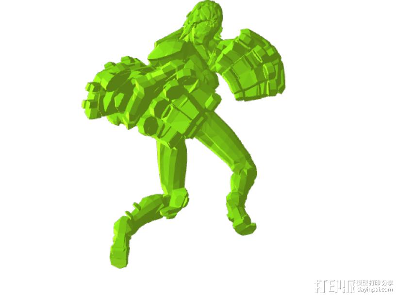 巨人——擎天柱 3D模型  图2
