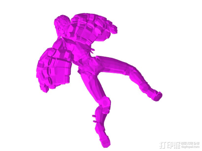 巨人——擎天柱 3D模型  图4