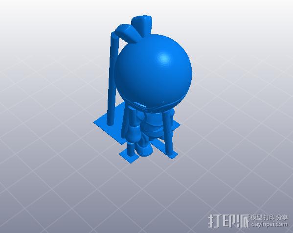 卡通机器人 3D模型  图4