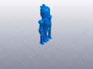 卡通机器人B 3D模型 图4