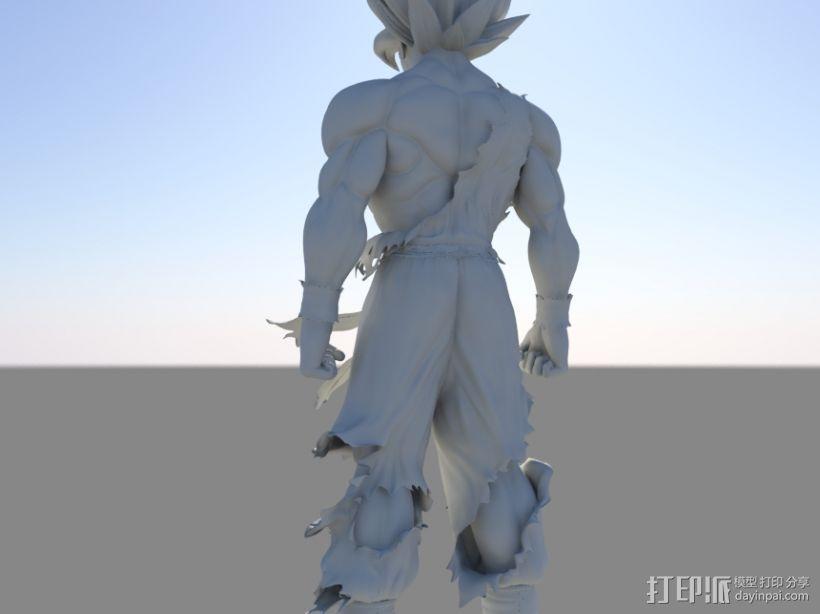 七龙珠-孙悟空 3D模型  图3