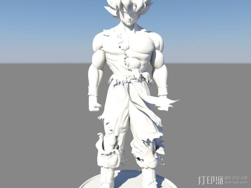 七龙珠-孙悟空 3D模型  图4