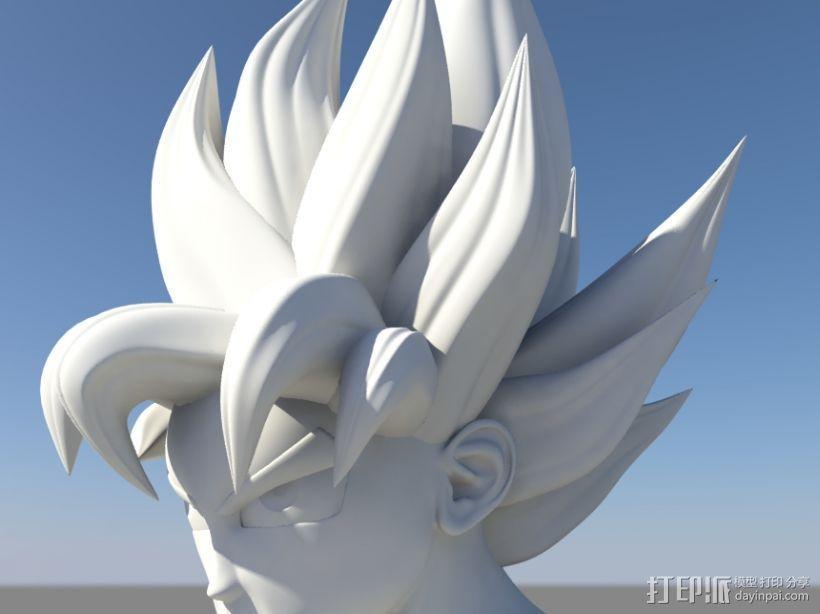 七龙珠-孙悟空 3D模型  图2