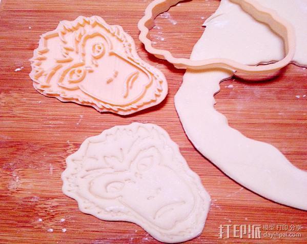 大圣归来 孙悟空 齐天大圣 饼干模具 3D模型  图3