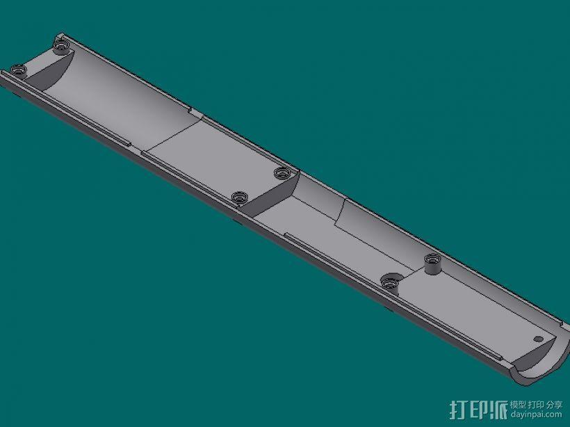 上盖 3D模型  图1