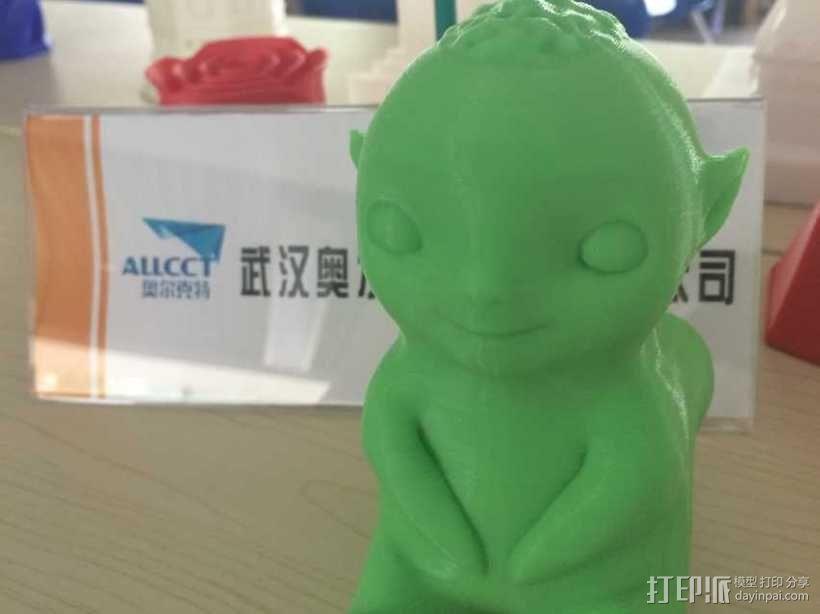 《捉妖记》小妖王胡巴 3D模型  图2