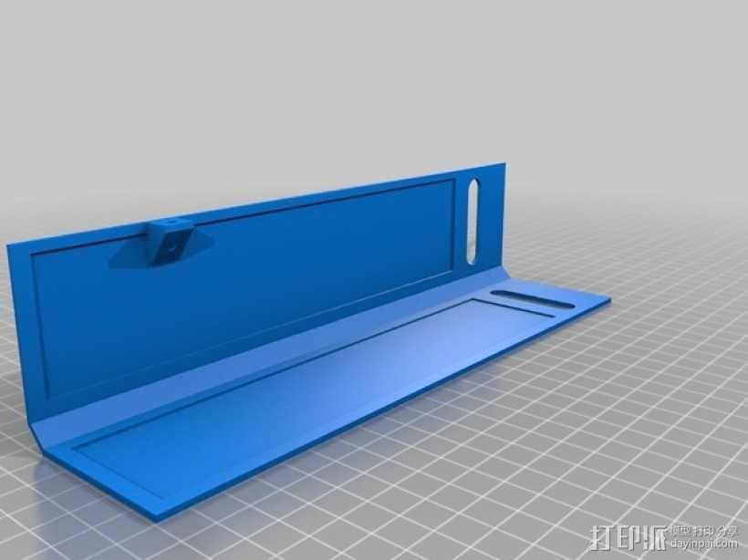 Ultimaker 2 伺服电机罩,盖子带风扇版本 3D模型  图7