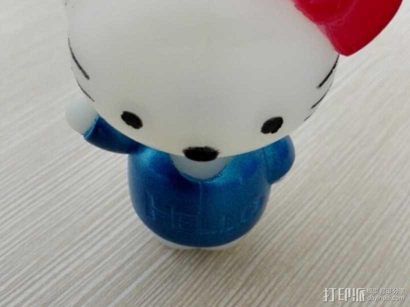 hello kitty 3D模型  图1