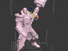 未来战士 3D模型 图1