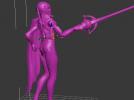 无双剑姬 3D模型 图1