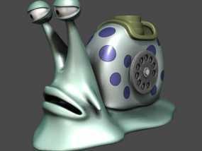 3D 打印 海贼王-电话虫 3D模型