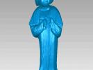 唐宫美人图,文物古董 3D模型 图1