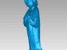 唐宫美人图,文物古董 3D模型 图2