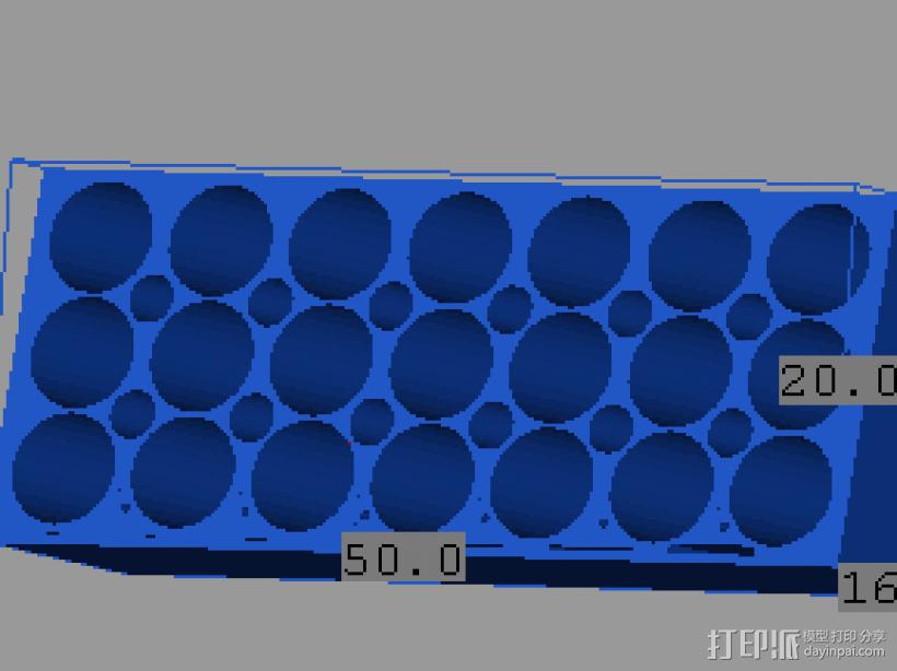 测试模型 3D模型  图1