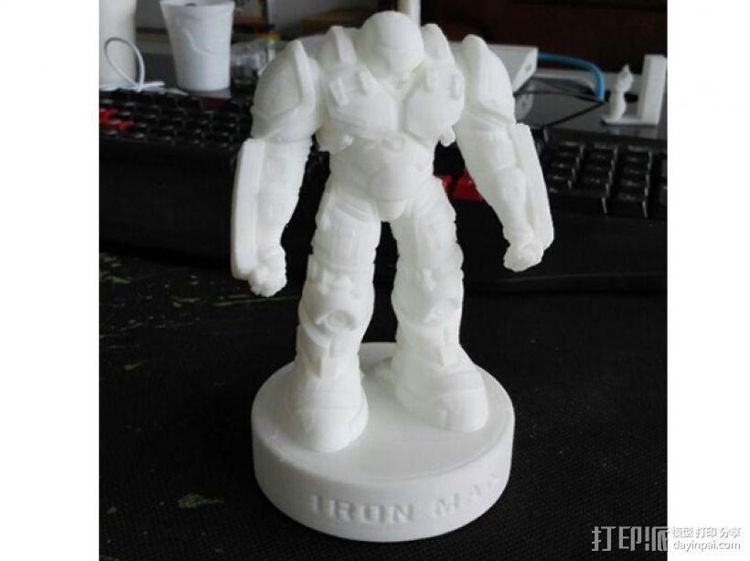 复仇者联盟 钢铁侠 反浩克机甲 3D模型  图3