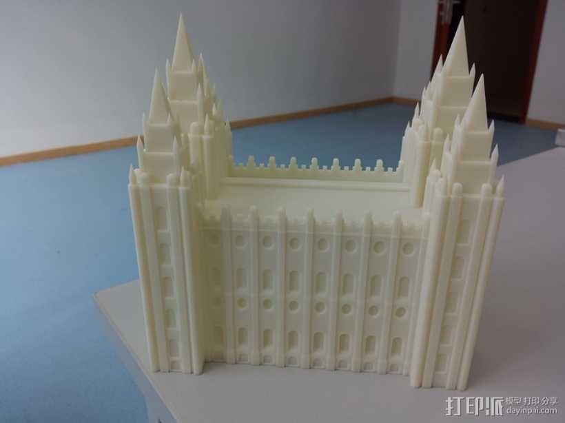 高精度、高质量的工业级SLA 3D打印机作品 3D模型  图9