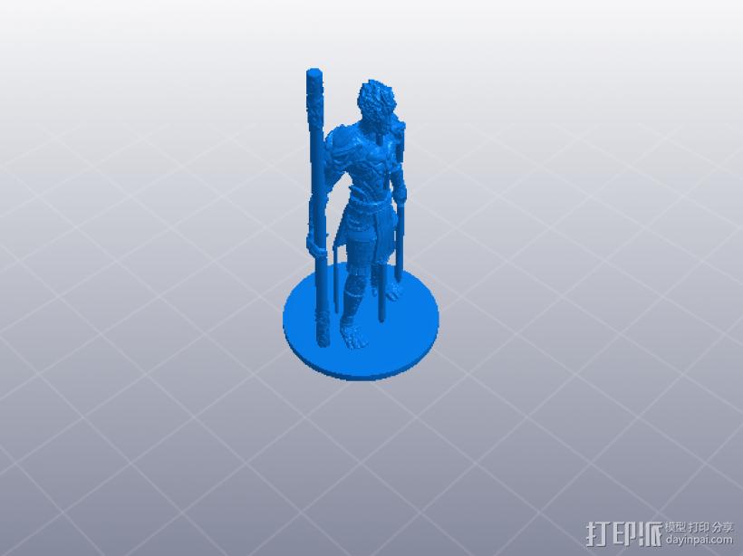 大圣归来之孙猴子 3D模型  图2