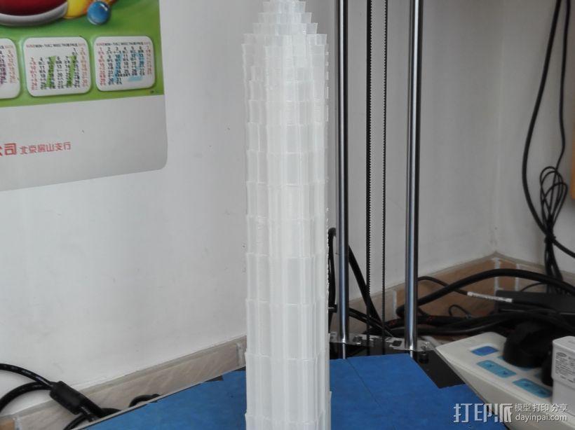 金茂大厦 3D模型  图1