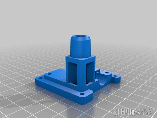 鲍登 Ultimaker2 打印头 3D模型  图2