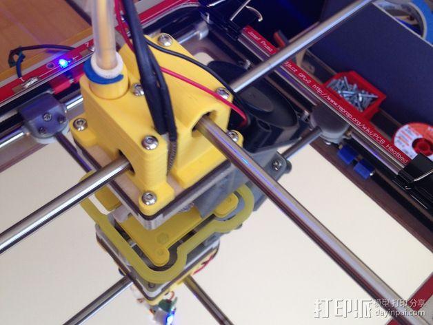 鲍登 Ultimaker2 打印头 3D模型  图4